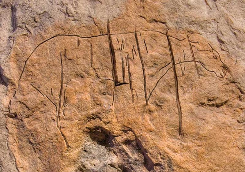 grotte balzi rossi graffiti