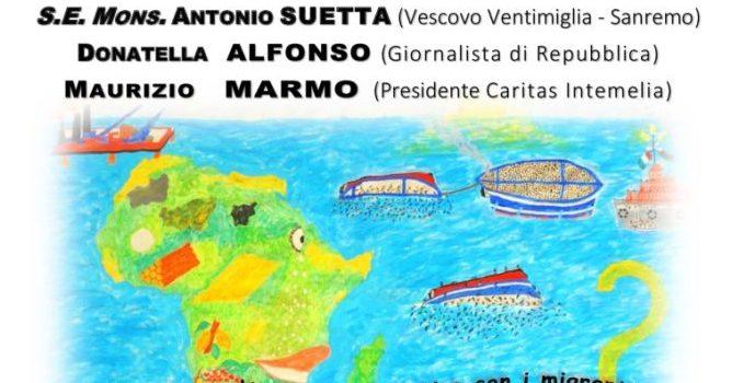 viaggio creativo con i migranti alla frontiera del Ponente ligure