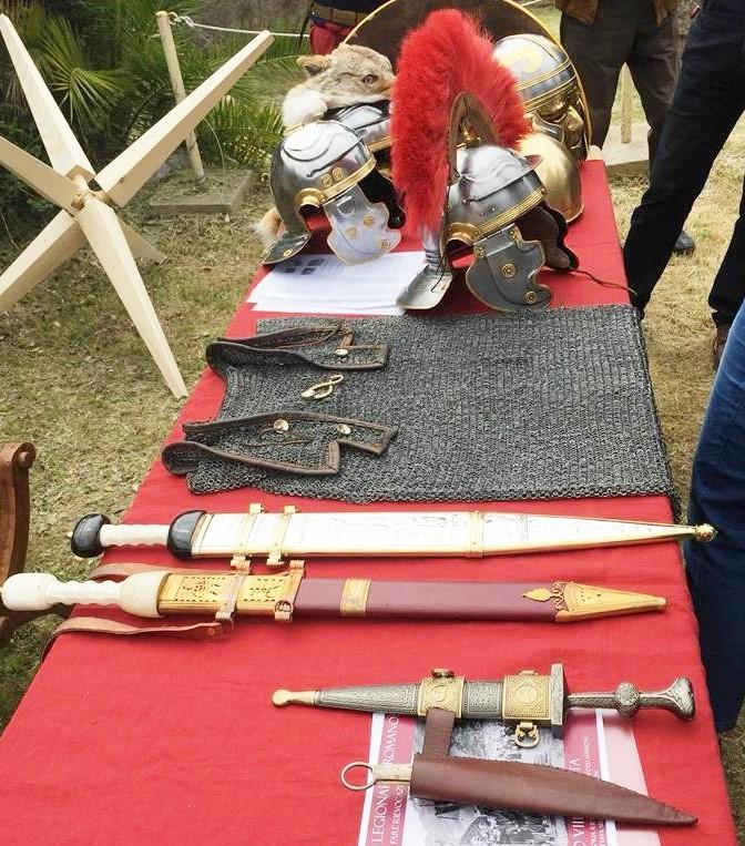 armi legione romane a ventimiglia nervia