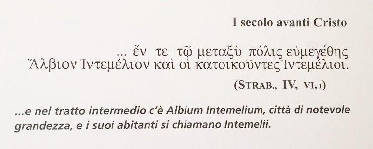 albium intemelium ventimiglia I secolo avanti cristo